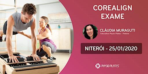 Formação em CoreAlign - Exame - Physio Pilates Balanced Body - Niterói