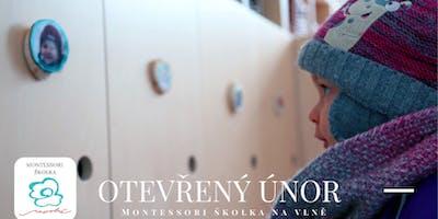 Otevřený únor v Montessori školce Na vlně jen pro - Vás