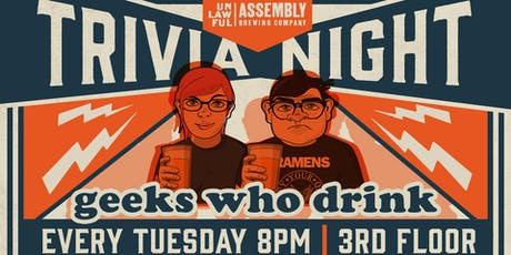 Geeks Who Drink Trivia Night tickets