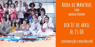 Roda de Mantras com Andrea Hiromi
