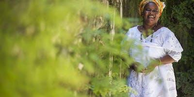 Oficina O Poder das Ervas com Mãe Celina de Xangô