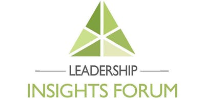 The Leadership Insights Forum™ - May 16th (Non-profit Price)