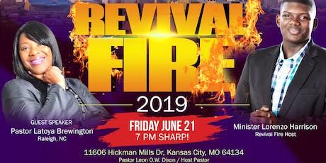 Revival Fire Kansas City tickets
