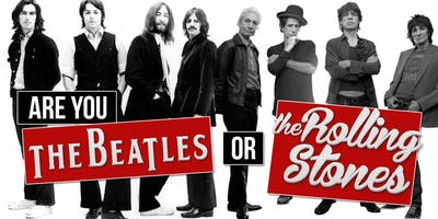 BEATLES VS THE ROLLING STONES TRIBUTE PARTY! PICK A SIDE - WHO WILL WIN?