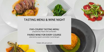 Five-Course Tasting Menu & Wine Pairing Night