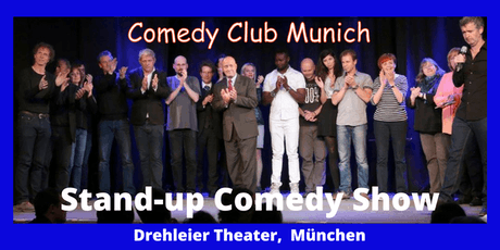 Stand-up Comedy Show - Theater Drehleier  - 7. September - Comedy Club Munich Tickets