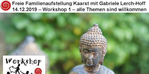 Freie Familienaufstellung Kaarst | Workshop 1 | alle Themen sind willkommen