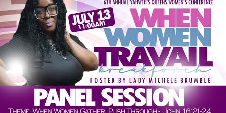 Yahwehs Queens Women's Conference Panel Session tickets