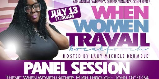 Yahwehs Queens Women's Conference Panel Session