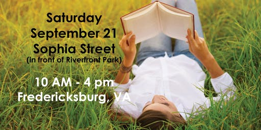 The 4th Annual Fredericksburg Independent Book Festival Author Registration