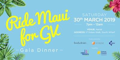 Ride Maui for GV Gala Dinner