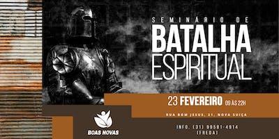 Seminário de Batalha Espiritual 2019