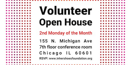 Volunteer Open House tickets