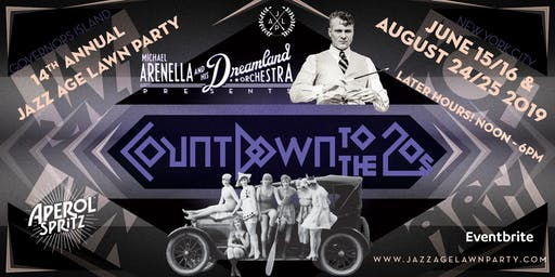 "Jazz Age Lawn Party 2019 - ""COUNTDOWN TO THE TWENTIES"""