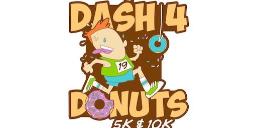 2019 Dash 4 Donuts 5K & 10K -Alexandria