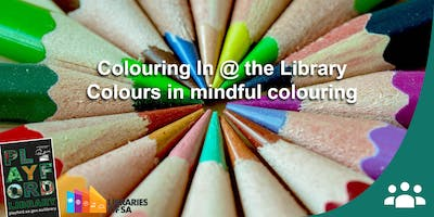 Colouring In Club: Using colours in Mindful Colouring with Zinia