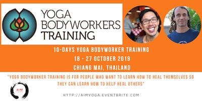 10-DAYS YOGA BODYWORKER with JAMBO & BRIAN in CHIANG MAI,THAILAND