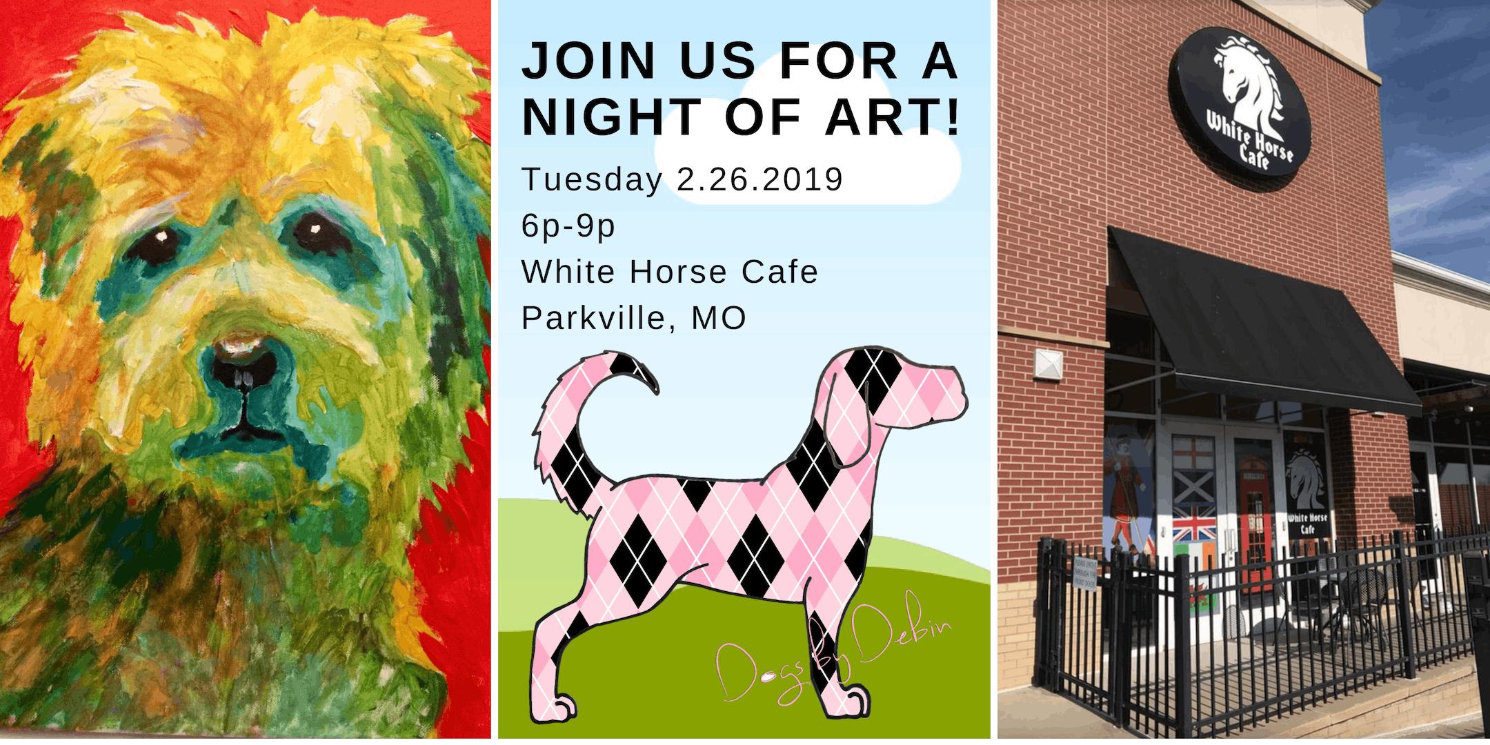 Pop Art Pets, Paint Your Pet Fundraiser!