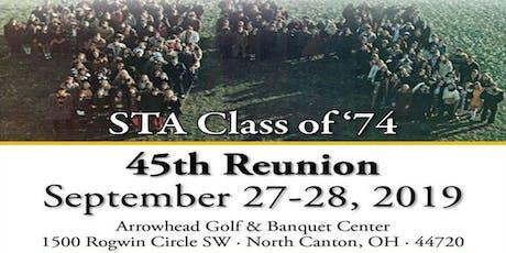 STA Class of 1974 - 45th Reunion tickets