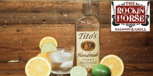 Free Titos and Free Entry at Rockin Horse