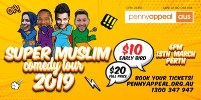 PERTH - Penny Appeal Super Muslim Comedy Tour 2019