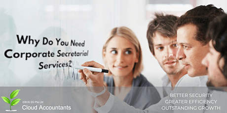 FREE CONSULTATION EVENT BY EBOS SG - Corporate Secretary and Why You Need It!