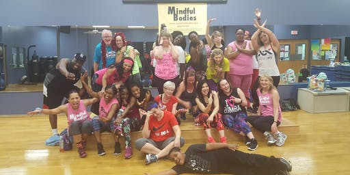 Mindful Bodies Thurs 7/4/19 Dance Fitness Party (4th of July)