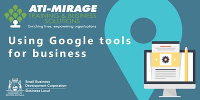 Using Google Tools for Business - Free SBDC Workshop