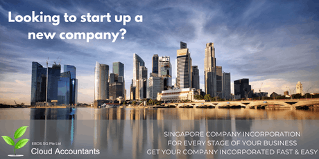 FREE CONSULTATION EVENT BY EBOS SG - Incorporate Your Company in Singapore tickets