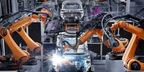 Maskinsäkerhetsseminarium med inriktning på sammansatta maskiner, smart manufacturing & AI tickets