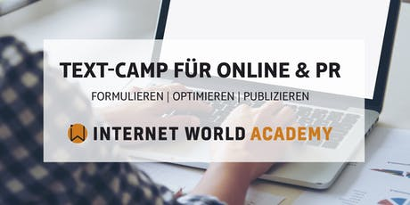 Text-Camp für Online & PR Tickets