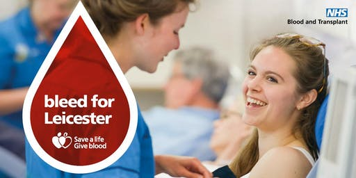 Give Blood in Leicester & Help Save a Life!