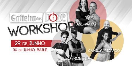 Workshop de Samba de Gafieira das Doze (G12) ingressos
