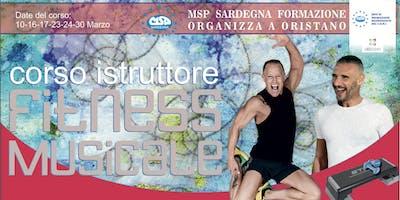 """CORSO MSP ITALIA """"ISTRUTTORE FITNESS MUSICALE""""-ORISTANO"""