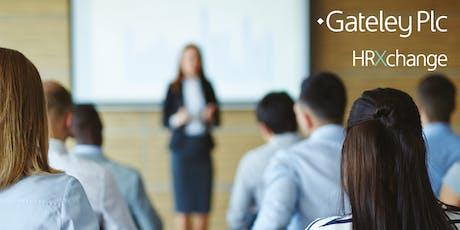 Gateley Plc HRXchange Autumn Employment Law Update tickets