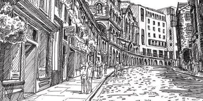 The Edinburgh Sketcher -  Old Town & Riddle's Court Drawing Workshop