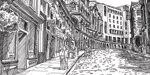 The Edinburgh Sketcher -  Old Town & Riddle's Court Drawing Workshop