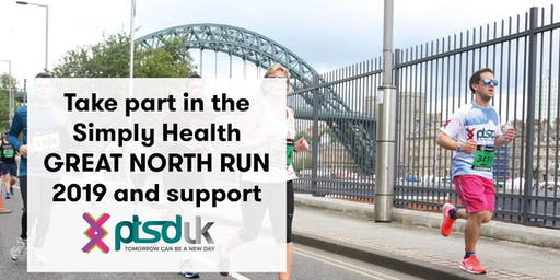 2019 Simply Health Great North Run to support PTSD UK