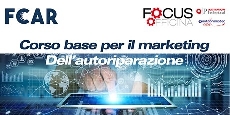 Corso base per il marketing dell'autoriparazione tickets
