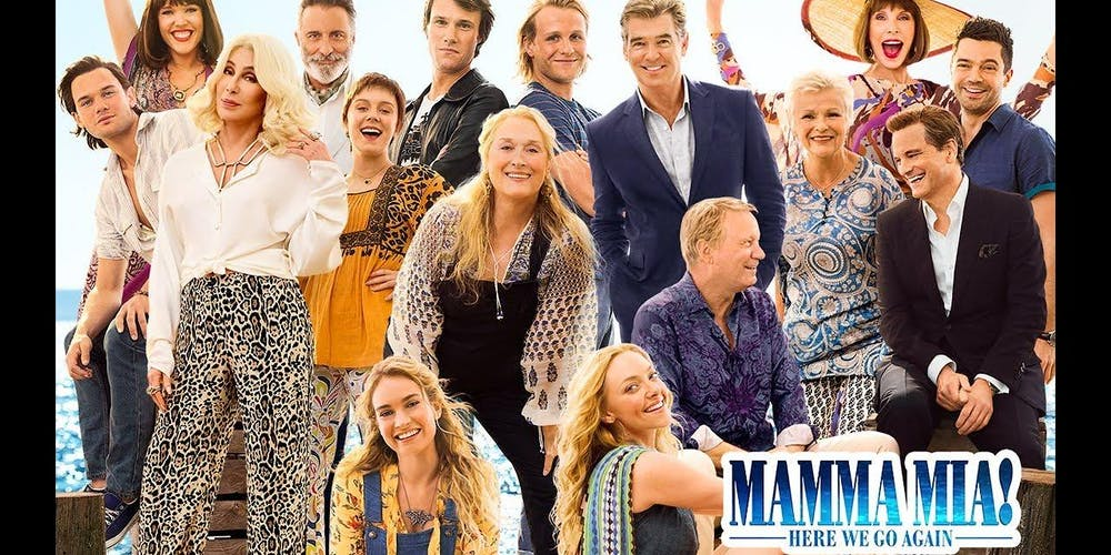 8cf9dd3cfd3 Mamma Mia Here We Go Again Outdoor Cinema DoubleTree Cambridge Tickets