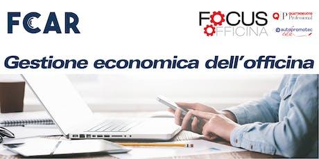 Gestione economica dell'officina - Introduzione ai principi economici per una gestione equilibrata dell'impresa di riparazione biglietti