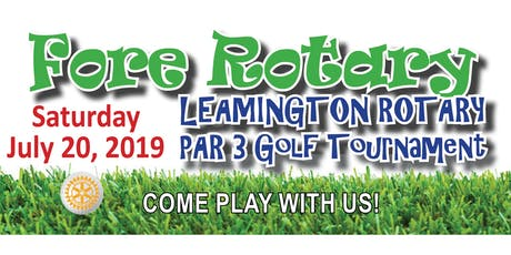 Fore Rotary Golf Tournament tickets