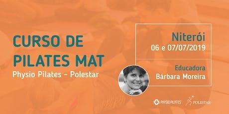 Curso de Pilates Mat - Physio Pilates Polestar - Niterói ingressos