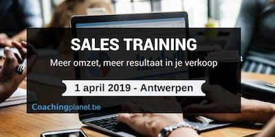 """Sales Training \""""De kunst van het verkopen\"""" Hoe de deal te sluiten. ANTWERPEN"""