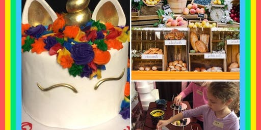Pastry Chef Camp: Rainbows and Unicorn and Farm to Table (Full day)