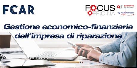 Gestione economico-finanziaria dell'impresa di riparazione biglietti