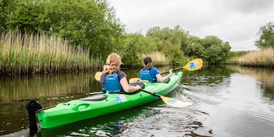 Guided Kayak Safari at RSPB Strumpshaw Fen