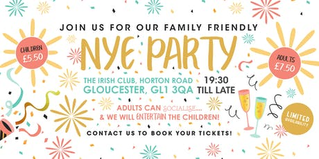 Family Friendly NYE Party 2019 tickets