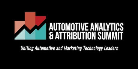 2019 Automotive Analytics & Attributions Summit tickets