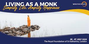 "3-day Meditation Retreat ""Living as a Monk: Simplify..."